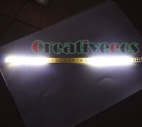 2x 30CM SMD Knight Rider Scanner Decorative Strobe Flash Warning LED Strip Light