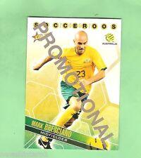 #D80.  2007 SOCCER FOOTBALL  PROMOTIONAL CARD - MARK BRESCIANO, SOCCEROOS