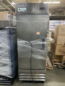 "29"" Stainless Steel Commercial Restaurant Solid Door Reach-In Refrigerator"
