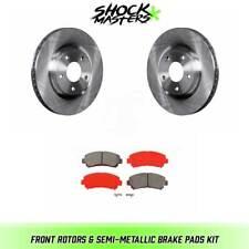 Front Rotors & Semi-Metallic Brake Pads for 2008-2013 Nissan Rogue