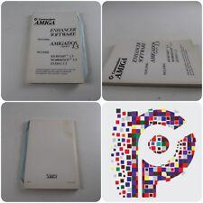 Commodore amiga Potenciador software Manual de libro con AmigaDOS 1.3 versión