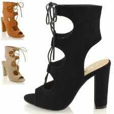 Women's High (3-4.5 in.) Formal Lace-up Heels