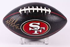 Mario Manningham Signed NFL San Francisco 49ers Football Auto Autographed MAB