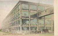 BATAVIA NY - Massey-Harris Harvester Company - Hand Colored Postcard