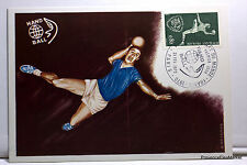 Yt1629 HAND BALL   CPA MAXIMUM POSTCARD  CARTE 1° JOUR FRANCE