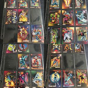 1992 IMPEL MARVEL UNIVERSE TRADING CARDS LOT OF 333 Cards