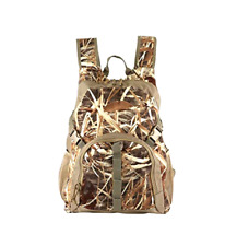 Duck Hunting Camo Backpack with Blind Material Camouflage Day Pack New