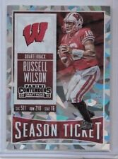 2016 Panini Contenders Draft Picks Russell Wilson Cracked Ice #'ed 13/23