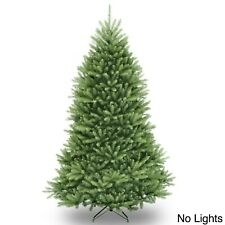 National Tree 7.5 ft Dunhill Fir Hinged Unlit Artificial Christmas Tree (DUH-75)