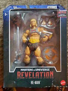 Masters of the Universe Masterverse Revelation He-Man Action Figure MOTU