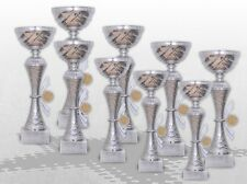 9er Pokalserie Pokale Skylon mit Gravur und Emblem günstig kaufen Pokale silber