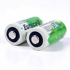 2 x CR123 CR123A Eunicell Lithium Batteries 3V for Digital Cameras & Equipment