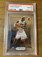 2012-13 Panini Prizm #1 LeBron James Miami Heat PSA 10 GEM MINT INVEST