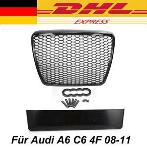 Kühlergrill für Audi A6 4F C6 08-11 passend für Waben Grill Wabengrill Glanz