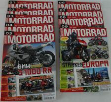 MOTORRAD 2009 Ausgaben 1-9 BMW Triumph Ducati Bimota Tests Premieren