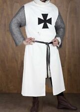 Medieval White tunic tutorial Arm street dress costume Gift without sleeves