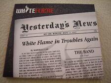 WHITE FLAME - ´´YESTERDAYS´S NEWS´´ - GREAT FINLAND METAL/HARDROCK DIGI CD 2008