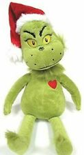 """Plush Dr. Seuss The Grinch Who Stole Christmas 14"""" Grinch Doll"""