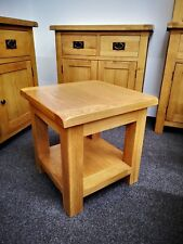 Oakvale Small Lamp Table / Square Side Table / Coffee Stand