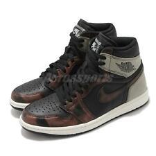 Nike Air Jordan 1 Retro Alta OG Pátina Negro Marrón Hombres Unisex AJ1 555088-033