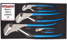 Channellock Inc Pc-3 Pro'S Choice Iii Tounge And Grove Pliers Set