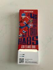 unused season hockey  tickets Montreal Canadiens  march 26