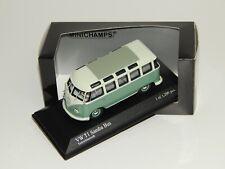 VW t1 samba-bus 1961 Turquoise Minichamps 1:43 >>> KK-modelo vehículo comercial