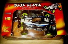 NEW BAJA ALPHA BORN TO RACE EXTREME WORK RC 1:18 scale Remote Control car MIB!