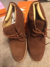 5604c93115b Martin Ding man Country Wear Lather Men Shoes Size 10.5 Havana Brown