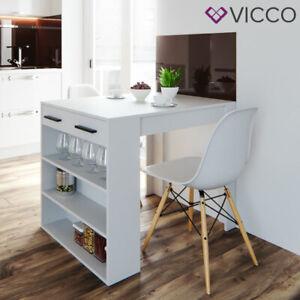 Table de bar Vicco Repose, table mange-debout, table lounge, table de comptoir