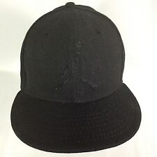 2c61dd90fa9 New Era 9Fifty Air Jordan Black on Black Snapback Jumpman Official Aug 2011