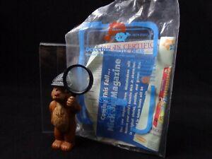 Rare Vintage Subway Toy DETECTIVE LITTLE BEAR MAURICE SENDAK 1999 Nick Jr.