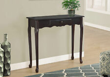 """Monarch Specialities Accent Table - 36""""L / Dark Cherry Hall Console (I-3109)"""