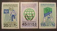 LIBYA / LIBIE 1981  Mi.Nr  857/859 mint.nh.
