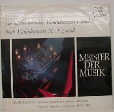 """MENDELSSOHN FRACTURE VIOLINKONZERT JAIME LAREDO MÜNCH MITCHELL 12"""" LP (f63)"""