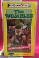 The Wombles 13 Episodes VHS Video Tape Vintage Collectable Rare Childrens TBLO