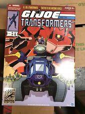 2012 SDCC Shockwave Hiss Tank Hasbro Gi Joe Cobra Transformers MIB