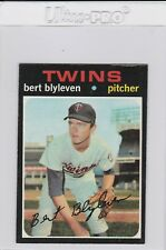 1971 Topps Bert Blyleven Minnesota Twins Pitcher #26 Rookie Baseball Card HOF