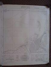 "Ordnance Survey Mappa 6"" ST24NE steart 1962 FIUME Parrett hunstpill River, muro co"