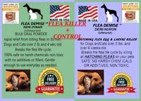 416 doses Flea Killer PLUS monthly hatching flea killer bulk Dog Cat up to 25lbs