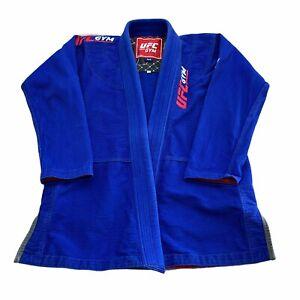 KINGZ  Kimonos UFC Gym BJJ Gi Blue M4 Official UFC Gym