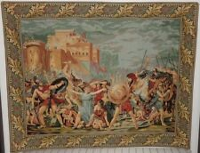 """BEAUTIFUL FRENCH TAPESTRY OF GOBELINS (62 """"l by 49"""" w)"""