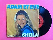 Vinyle, SHEILA, 45 Tours VINTAGE, ADAM ET EVE/OH ! MARIE, MARIA...