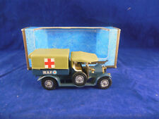 Scarce Matchbox Yesteryear Y13 1918 Crossley RAF Tender Olive Green hood Issue12