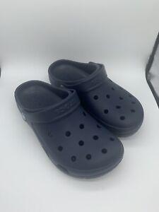 New Crocs Coast Clogs, Men's Size 6, Women's Size 8, Navy Blue
