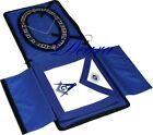 Master Mason Working Tools Masonic COLLAR APRON CASE Complete Package MM-4000