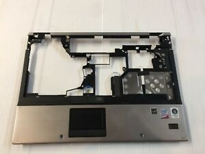 HP EliteBook 6930P Series Laptop Palmrest Touchpad Power Button Media 486303-001