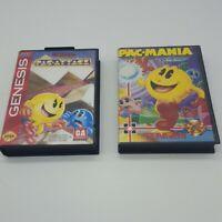 Lot of 2 Pac-Man Sega Genesis Games