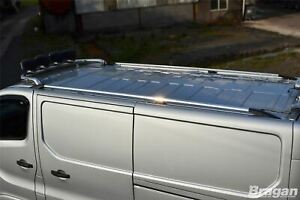 Roof Rails For Nissan NV300 2014+ LWB Van Top Aluminium Metal Rack Styling Bars