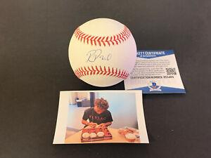 Reginald Preciado Cubs Auto Signed Baseball Beckett Rookie COA